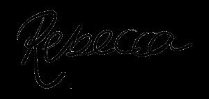 Rebeccasignature