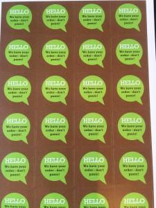 Marten Julian stickers